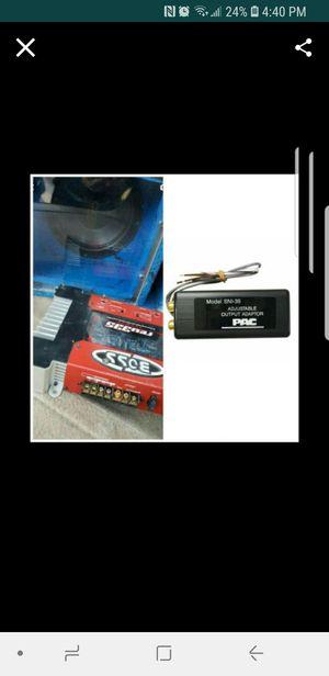 "10"" kicker sub ,250 boss amp plus audio converter for car for Sale in Woodbridge, VA"