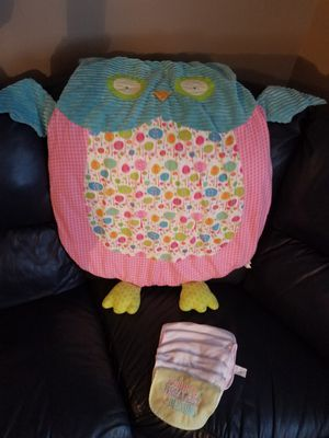 Baby girl owl play mat for Sale in Buckingham, VA