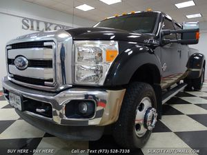 2012 Ford F-450 SD LARIAT Crew Cab 4x4 DUALLY DRW Diesel 8ft Bed for Sale in Paterson, NJ
