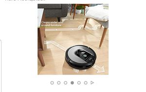 iRobot Roomba 960 Robot Vacuum- Wi-Fi Connected Mapping, Works with Alexa & Google Voice for Sale in Savannah, GA