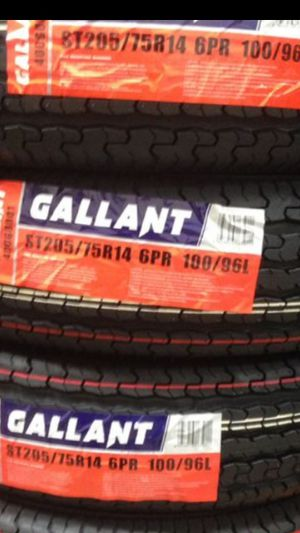 4] NEW TRAILER TIRES pick up ONLY!! St205/75R14 for Sale in Los Angeles, CA