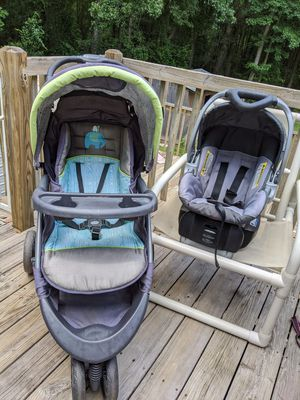 Baby trend travel system stroller car seat and base for Sale in Piedmont, SC