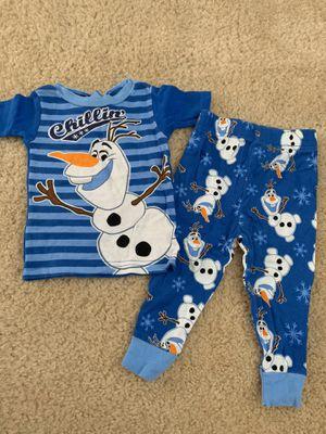 Disney Olaf PJ set for Sale in Chino, CA