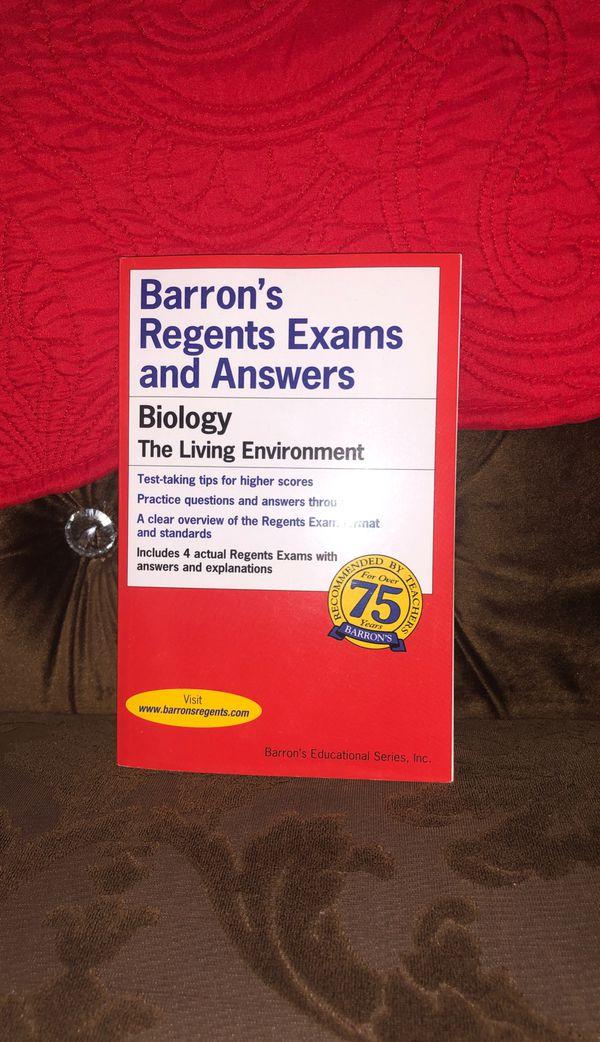 Barrons BIOLOGY Regents