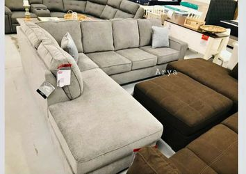 Same Day Delivery New Brand Ashley Spcl Sectional for Sale in Alexandria,  VA