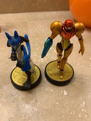 Amiibo - Samus and Lucario - Nintendo Switch for Sale in Bonita, CA