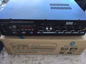 500 watts small Bluetooth USB amplifier for Sale in San Francisco, CA