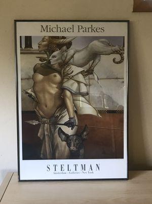 Michael Parkes framed art for Sale in Tempe, AZ