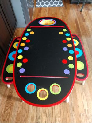 Colorful ALEX Toys Oblong Artist Table with Roll Out Paper for Sale in Westminster, CO