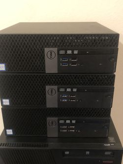 Optiplex Model's 7040 6th Gen Core i5's Missing HDD and Ram AS-IS 🕵️‍♀️ Pick Up Only $125 EACH NO LESS for Sale in Sanger,  CA