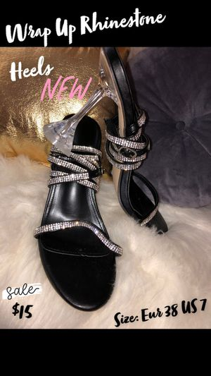 Wrap Up Rhinestone Heels for Sale in Hopkins, SC
