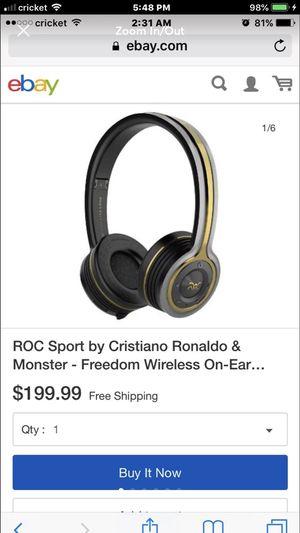 ROC Sport By Cristiano Ronaldo & Monster for Sale in Cedar Park, TX
