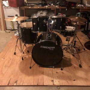 Starcaster Drum set by Fender for Sale in Beaverton, OR