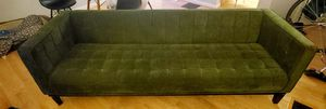 Midcentury Style Green Tufted Sofa Couch for Sale in Fairfax, VA