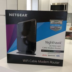 NetGear Nighthawk AC1900 Cable Modem Router for Sale in Hialeah, FL