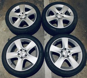 MERCEDES BENZ 17 WHEELS RIMS TIRES CLA 250 W246 for Sale in Los Angeles, CA