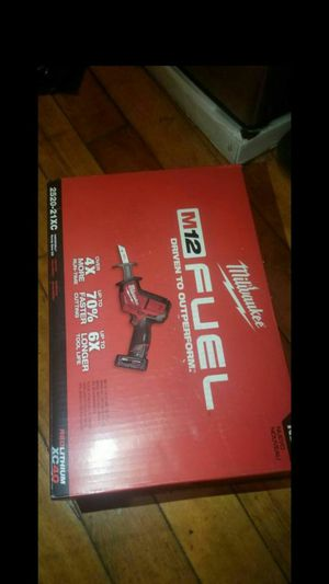 Milwaukee m12 hacksaw for Sale in Boston, MA
