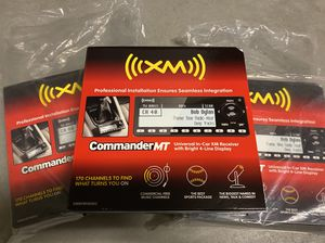 CommanderMT Audiovox XM Radio for Sale in Oceanside, CA
