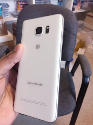 """Samsung Galaxy Note 5 ,,Factory UNLOCKED Excellent CONDITION """"as like nEW"""" for Sale in Springfield, VA"""