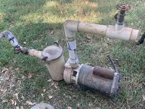 POOL PUMP parts- strainer , parts - $25 obo for Sale in Bedford, TX