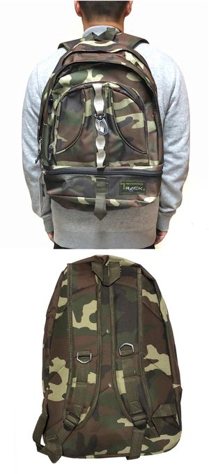 NEW! Camouflage backpack school bag Travel bag computer book bag shoulder bag sling messenger hiking camping luggage laptop army gym work bag for Sale in Los Angeles, CA