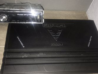 Crunch Amp And Stereo for Sale in Oakland,  CA