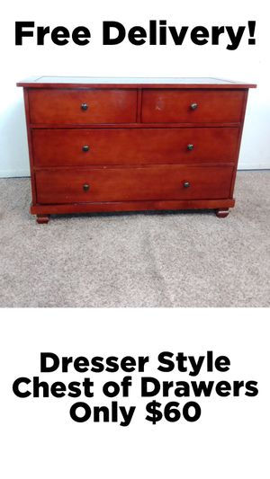 Dresser Style 4 Drawer Chest of Drawers w/ Free Delivery! for Sale in Phoenix, AZ