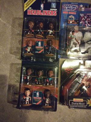 NBA and baseball action figures for Sale in Martinez, CA