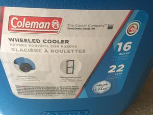 Coleman Wheeled Cooler for Sale in North Potomac, MD