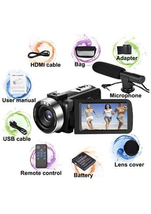 *Brand New* 30 Megapixel Camcorder with 18X digital zoom for Sale in Irving, TX