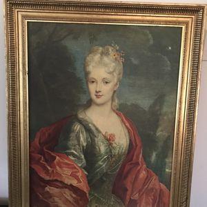 Gold Gilt Frame Mlle DuBois Print for Sale in Bethesda, MD