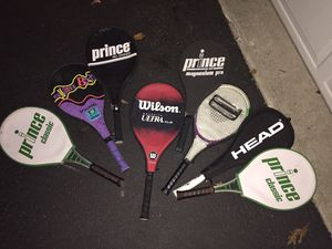 Various Tennis Rackets for Sale in Massapequa, NY