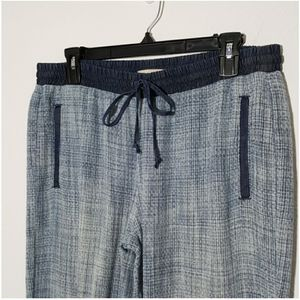 Cloth & Stone Small Lightweight pull on woven summer joggers pants Small for Sale in Fort Myers Beach, FL