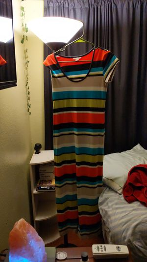 Size large cotton Knit dress for Sale in Grand Terrace, CA