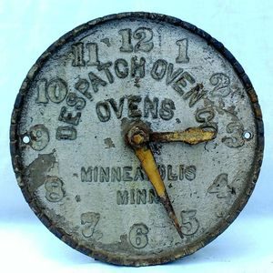 Antique advertising clock sign for Sale in McKeesport, PA
