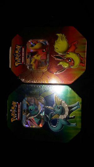 Pokemon tins for Sale in Foster, RI
