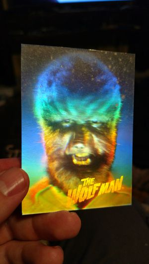 1992 wolfman hologram card for Sale in Appomattox, VA
