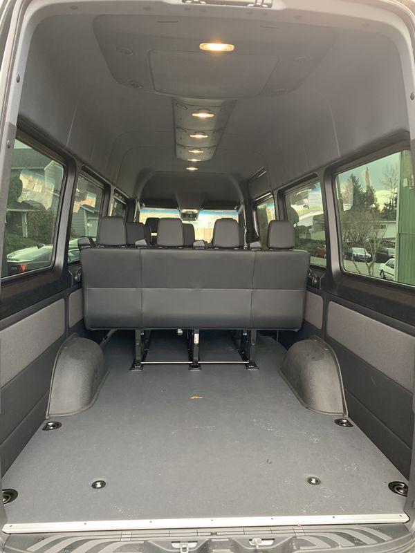 2019 Mercedes Sprinter Interior Kit seats panels ac floor