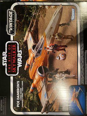 Star Wars The Vintage Collection The Rise of Skywalker Poe Dameron'S X-Wing Fighter Toy Vehicle for Sale in Port Orchard, WA