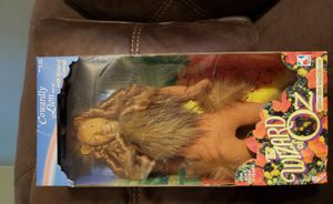 Cowardly Lion Wizard of Oz soft doll for Sale in Toms River, NJ