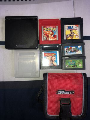 Gameboy Advance SP Bundle for Sale in Wethersfield, CT