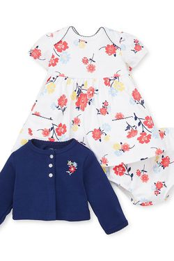 Little Me Dress, Cardigan, & Bloomer Set (Baby Girls) 9M for Sale in Silver Spring,  MD