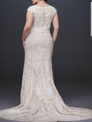 WEDDING DRESS, VEIL & PURSE for Sale in Medford, NJ