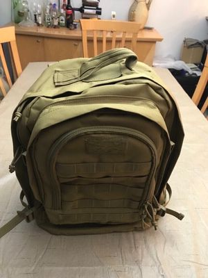 Highland Tactical Rumble Heavy Duty Tactical Backpack. Excellent condition no refunds no returns for Sale in Pembroke Pines, FL