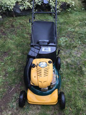 "21"" gas self propelled lawn mower w/bag for Sale in Kirkland, WA"