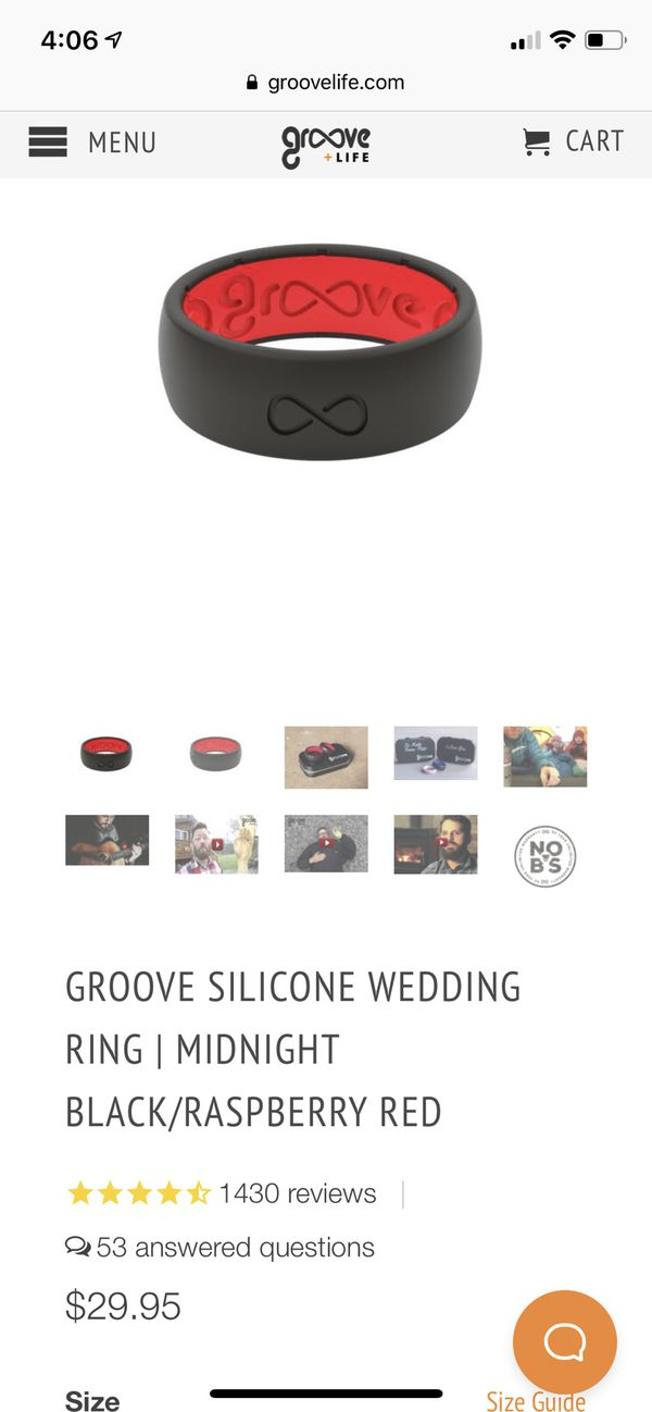 GROOVE SILICONE WEDDING RING