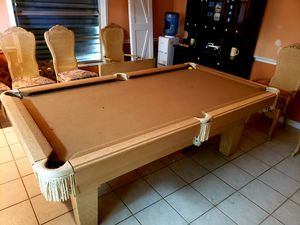 Slate top pool table for Sale in Fort Pierce, FL