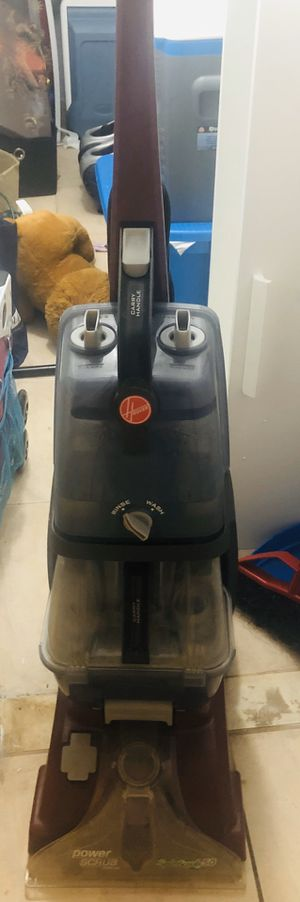 Hoover power scrub deluxe carpet cleaner for Sale in Miami, FL