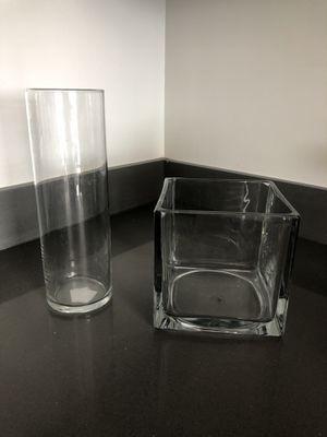 Glass vase set for Sale in Tempe, AZ