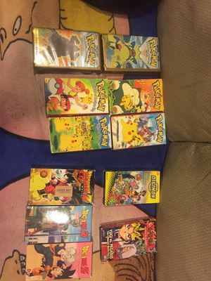 Lot of 12 VHS Pokémon Dragonball Z Tapes for Sale in Hazel Park, MI